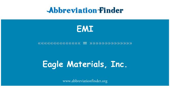EMI: Eagle Materials, Inc.