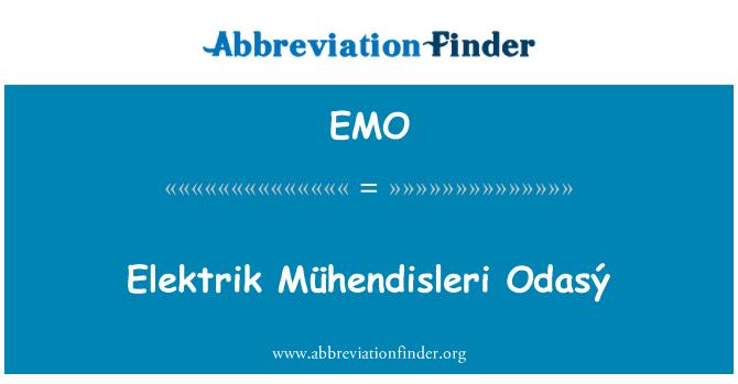 EMO: Elektrik Mühendisleri Odasý