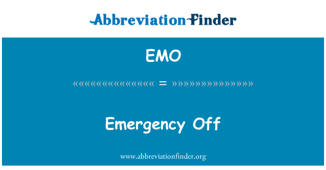 EMO: Emergency Off