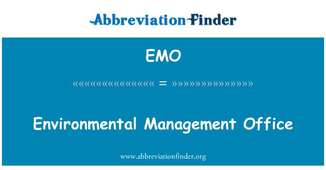 EMO: Environmental Management Office