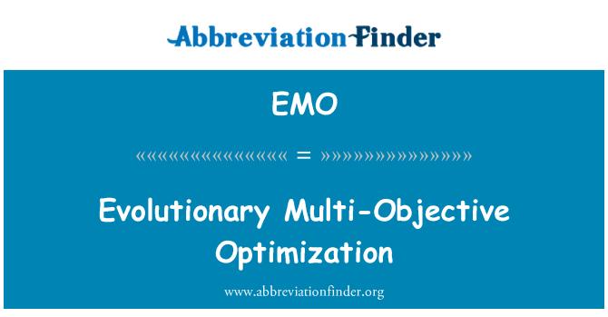 EMO: Evolutionary Multi-Objective Optimization