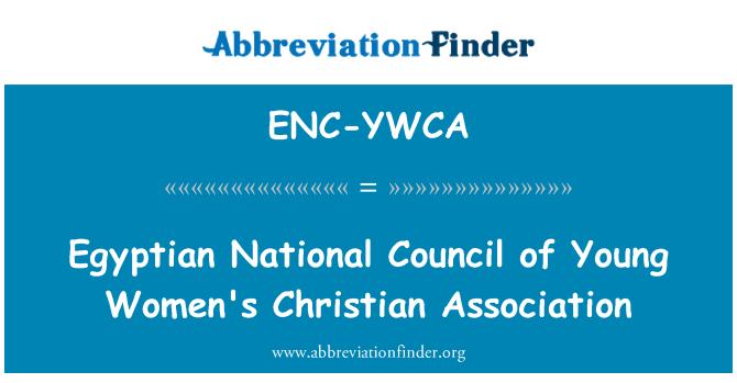 ENC-YWCA: Egyptian National Council of Young Women's Christian Association