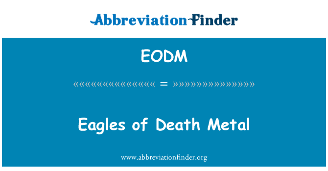 EODM: Eagles of Death Metal