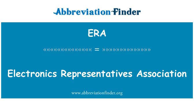 ERA: Electronics Representatives Association