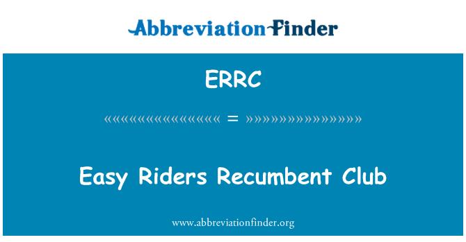 ERRC: Easy Riders Lamav klubi