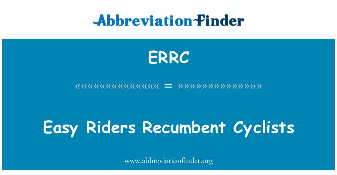 ERRC: Easy Riders Lamav jalgratturid