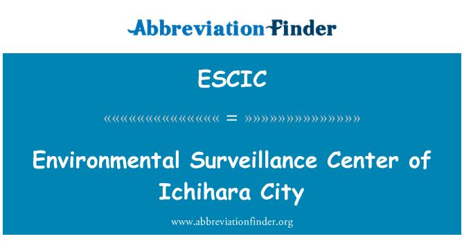 ESCIC: Environmental Surveillance Center of Ichihara City