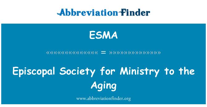 ESMA: Sociedad Episcopal para el Ministerio al envejecimiento
