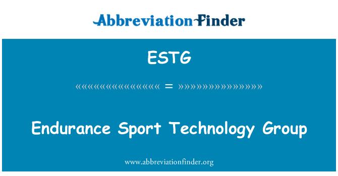 ESTG: Endurance Sport tehnoloogia grupp