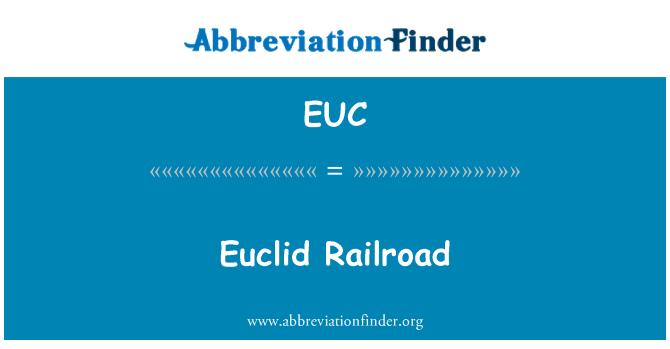 EUC: Euclid Railroad
