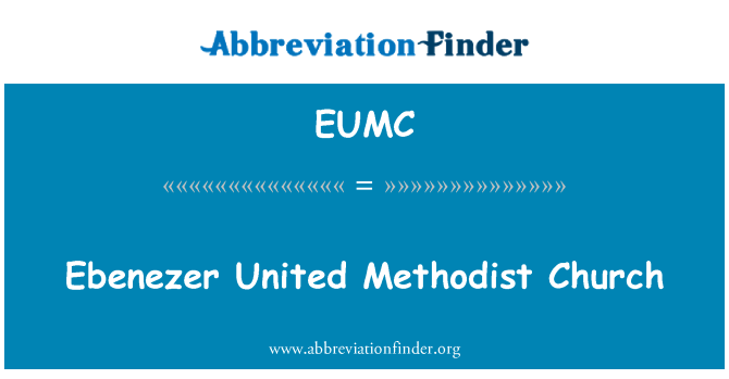 EUMC: میتھوڈسٹ چرچ ایبانازر متحدہ
