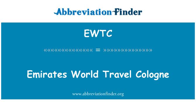 EWTC: Emirates World Travel Cologne