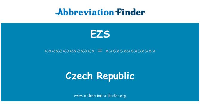 EZS: Czech Republic