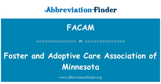 FACAM: Foster and Adoptive Care Association of Minnesota
