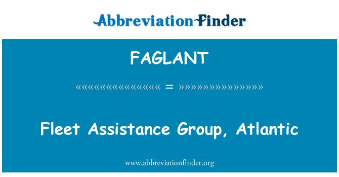 FAGLANT: Grupo de ayuda de la flota, Atlántico