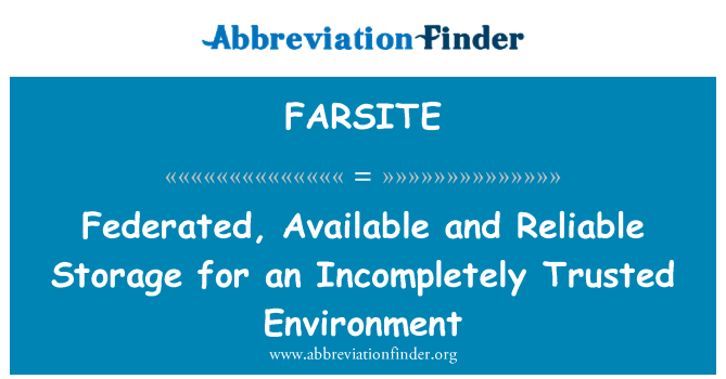 FARSITE: Federated, Available and Reliable Storage for an Incompletely Trusted Environment