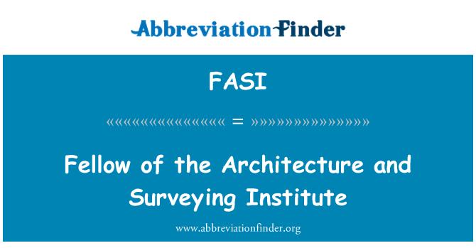 FASI: Becario del Instituto de agrimensura y arquitectura