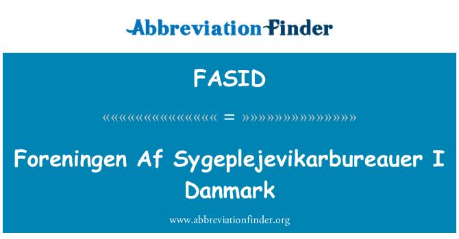FASID: Foreningen Af Sygeplejevikarbureauer I Danmark
