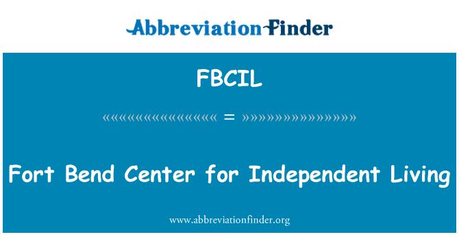 FBCIL: Fort Bend Center for Independent Living