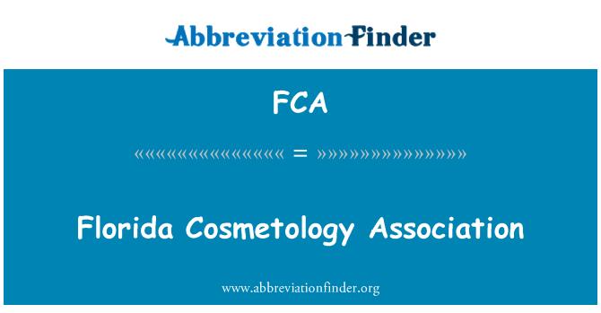 FCA: Florida Cosmetology Association