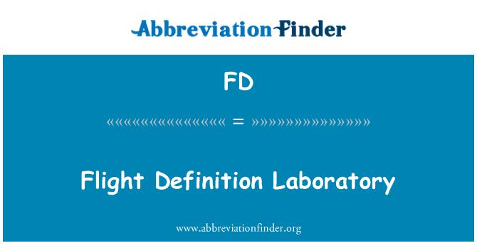 FD: Flight Definition Laboratory