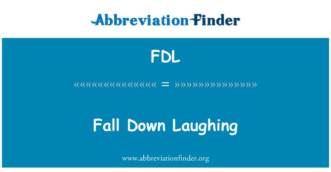 FDL: Caer riendo