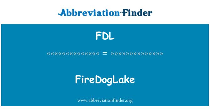FDL: FireDogLake