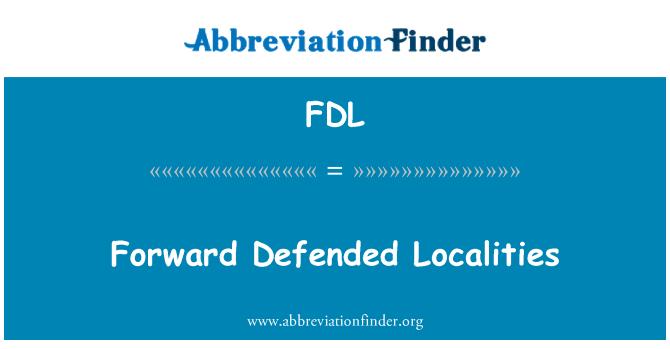 FDL: Adelante defendió localidades