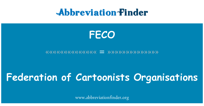 FECO: Federation of Cartoonists Organisations