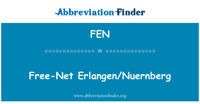 FEN: Free-Net Erlangen/Nuernberg