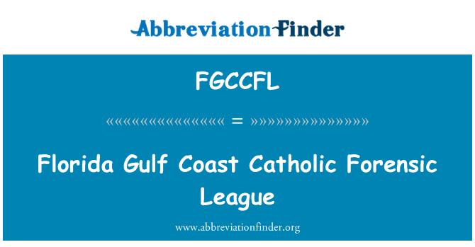 FGCCFL: Florida Gulf Coast Catholic Forensic League