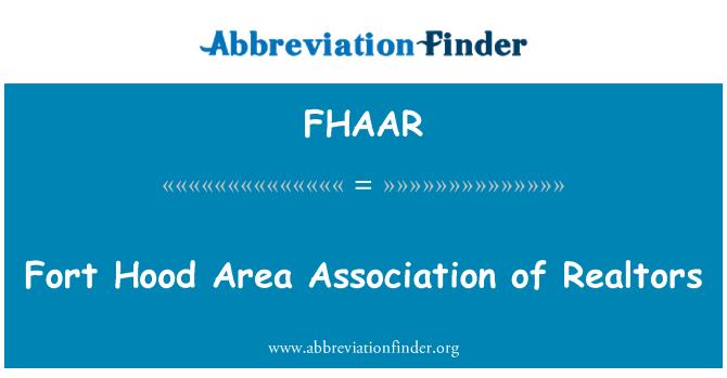FHAAR: Fort Hood Area Association of Realtors
