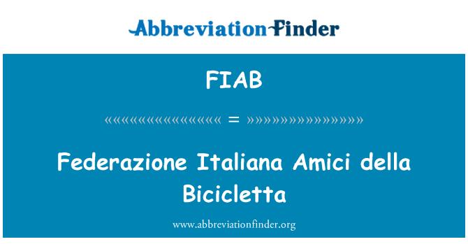 FIAB: Federazione Italiana Amici della Bicicletta