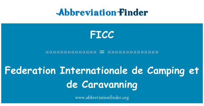 FICC: Federation Internationale de Camping et de Caravanning