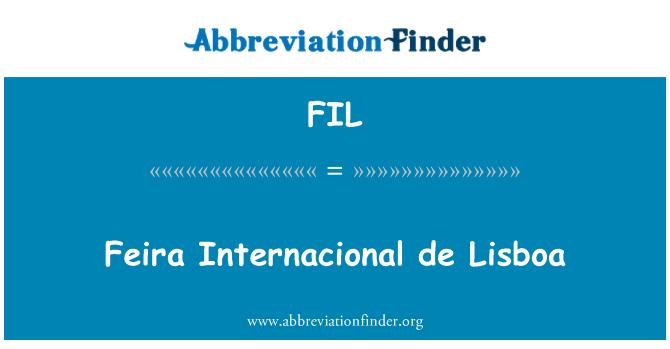 FIL: Feira Internacional de Lisboa