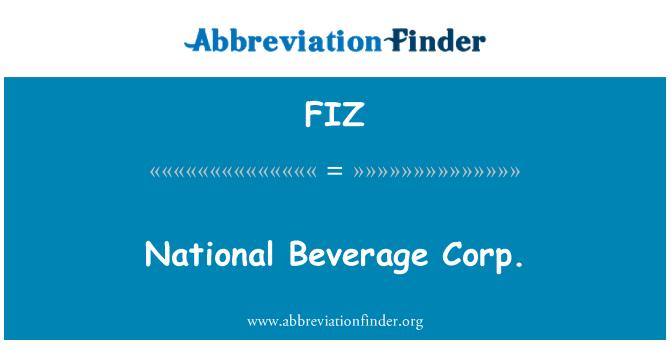 FIZ: National Beverage Corp.