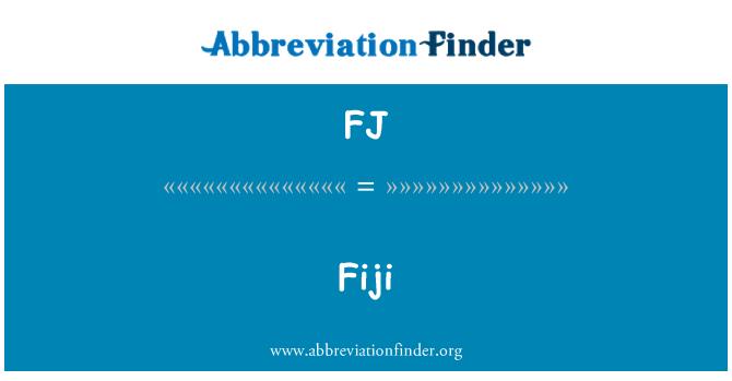 FJ: Fiji