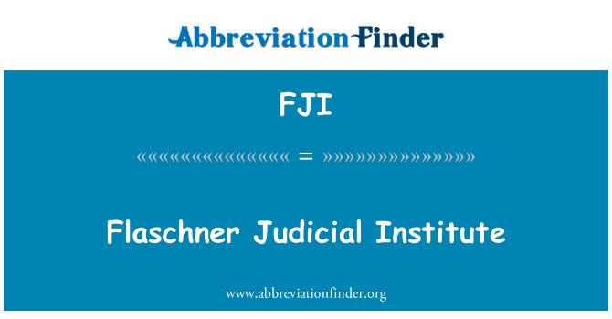 FJI: Flaschner õigusalase koostöö instituudi