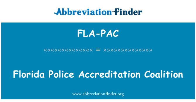 FLA-PAC: فلوریڈا پولیس سرٹیفیکیشن اتحاد