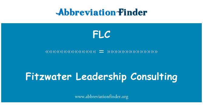 FLC: Fitzwater Leadership Consulting