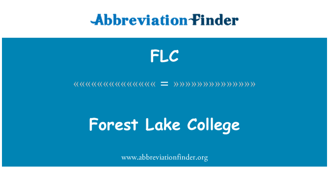 FLC: Forest Lake College