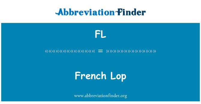 FL: French Lop