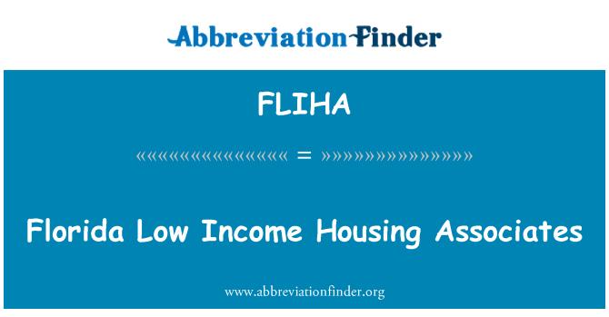 FLIHA: Florida Low Income Housing Associates