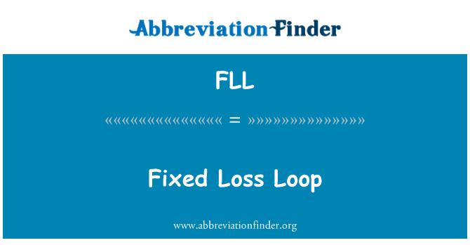 FLL: Fixed Loss Loop