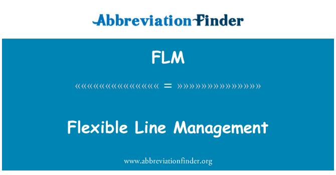 FLM: Flexible Line Management