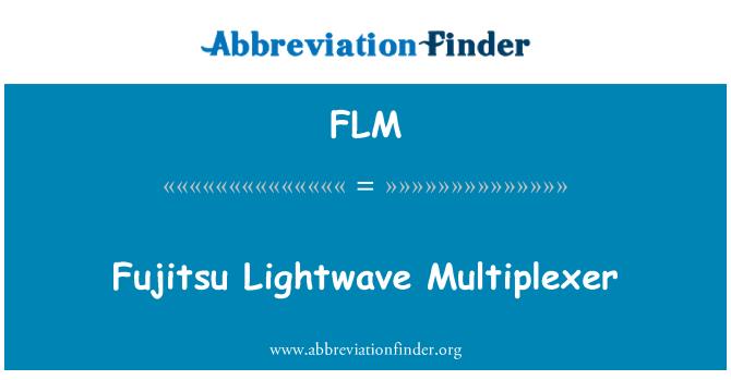 FLM: Fujitsu Lightwave Multiplexer