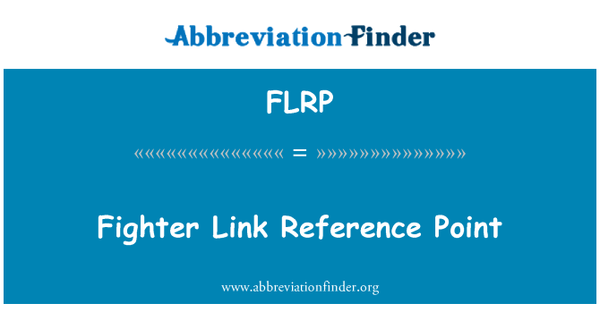 FLRP: Fighter Link Reference Point