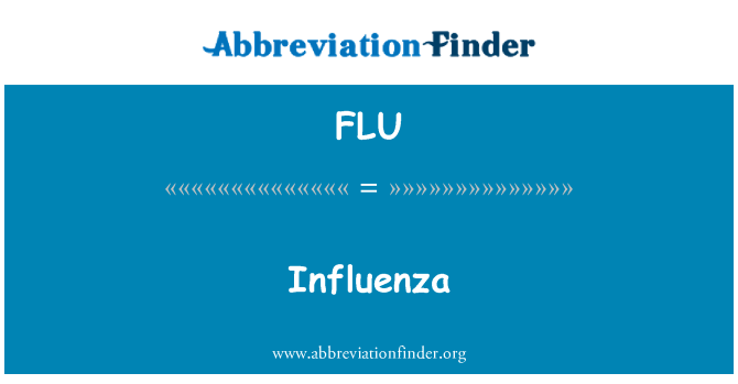 FLU: Influenza