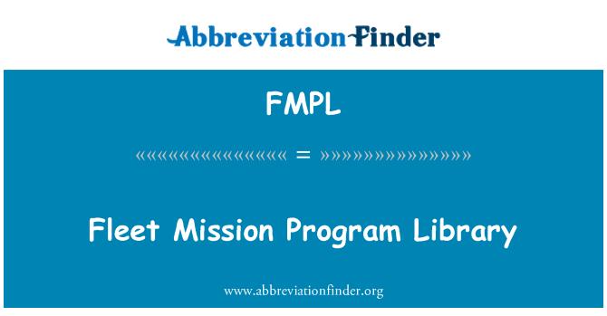 FMPL: Fleet Mission Program Library