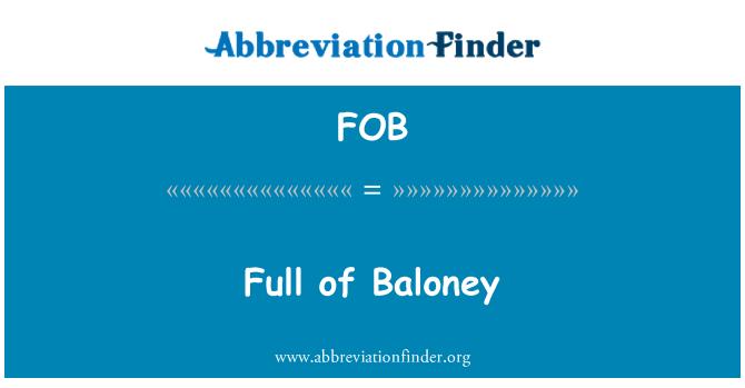 FOB: Full of Baloney